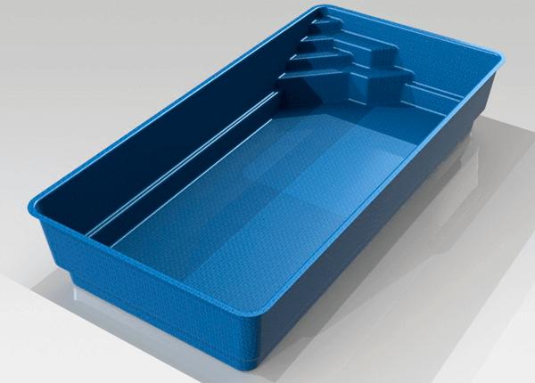Керамический бассейн Brilliant - 2
