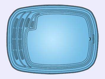 Композитный бассейн ТАХО (4,4х3,0х1,4) - 1