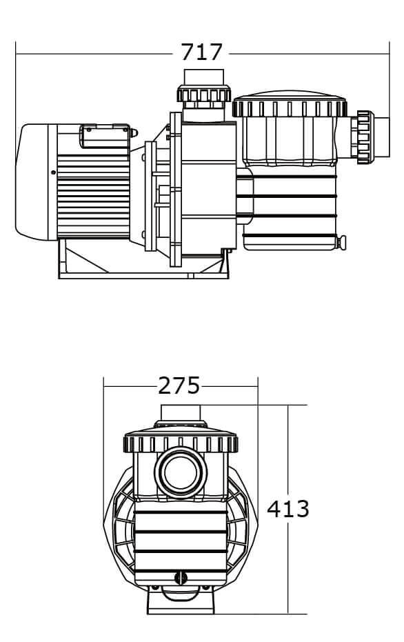 Насос Emaux SB  ( I Ф ) - 1