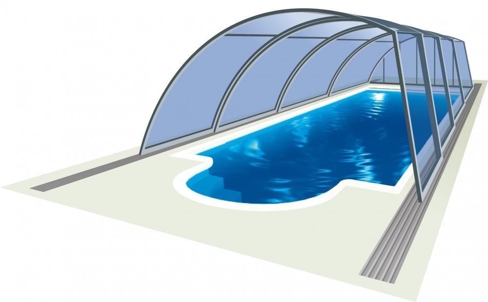 Павильон для бассейна модель EDEN, размер (ДхШхВ) - 1