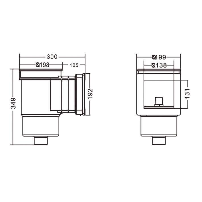 Скиммер Emaux EM0010С Standard бетон - 1