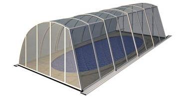 Павильон для бассейна модель EDEN, размер (ДхШхВ) - 2