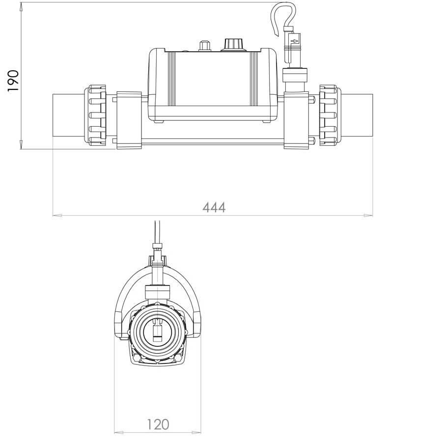 Электронагреватель Elecro Nano Spa 230v  - 3