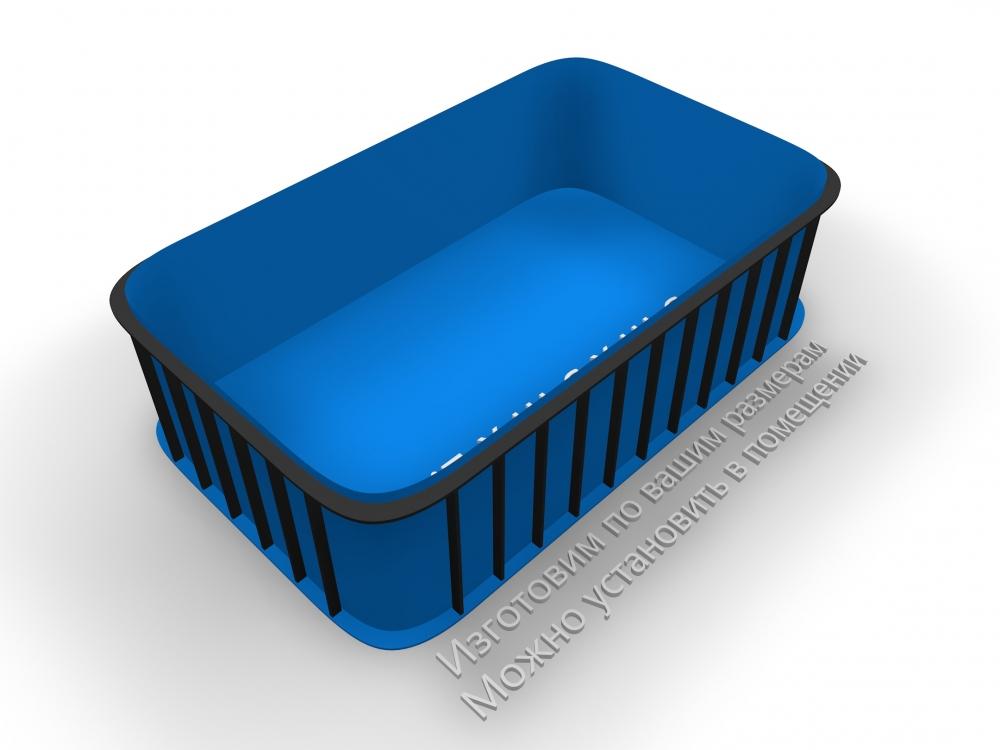 Чаша бассейна прямоугольная - 3