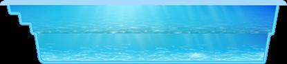 Композитный БАФФАЛО бассейн (7,6x3,5x1,6) - 1