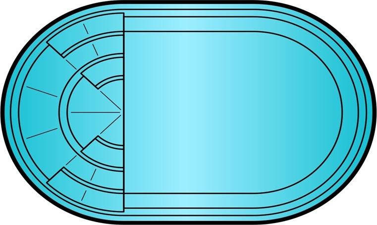 Бассейн ТОПАЗ (4,1x2,7x1,5) - 1