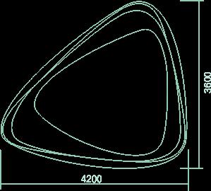 Мини бассейн (4,2x3,6x0,83) - 1