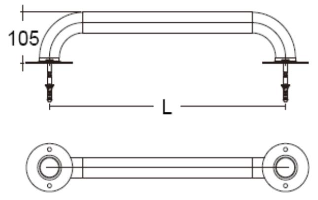 Поручень для бассейна Emaux - 1