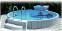 Сборный каркасный круглый бассейн