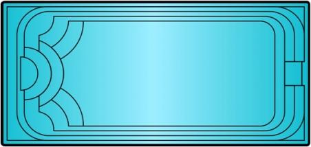 Накрытие для бассейна Класiк 1/2 (7.9 х 4.1м)