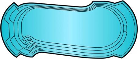 Накрытие для бассейна Лидер - 1 (9.3 х 3.9м)