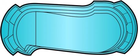 Накрытие для бассейна Лидер - 2 (9.3 х 3.9м)