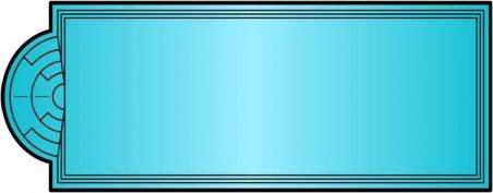 Накрытие для бассейна Елiт 11.9 х 4.6м