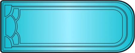 Накрытие для бассейна Модель №14 (8.7 х 4.0м)