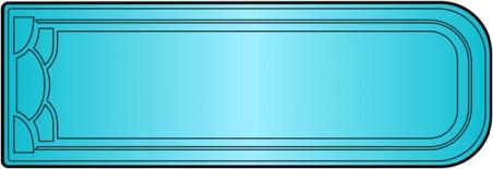 Накрытие для бассейна Модель №17  (11.0х4.0м)