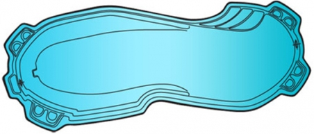 Накрытие для бассейна Байкал (13.35х6.15м)