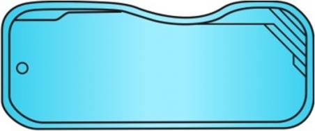 Накрытие для бассейна Riverina 67 (7.2 х 3.9м)