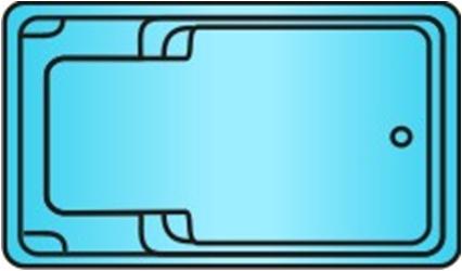 Накрытие для бассейна Лозанна / Лаго   6.3 х 3.95м