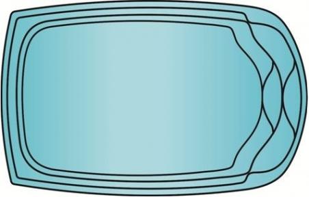 Накрытие для бассейна Пятёрка 5.7 х 3.8м