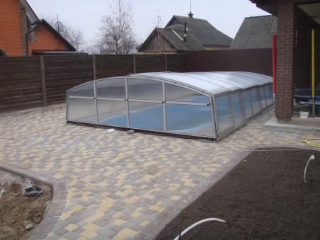 Павильон для бассейна модель AVANGARD, размер (ДхШхВ)